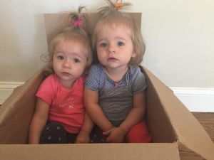 twins in a box Sept 2014
