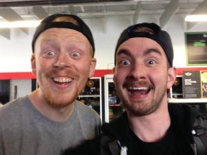 Andy and Jon