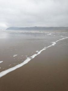 big empty beach